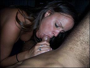 Amateurs otra buena mamada de mi mujer - 3 part 10